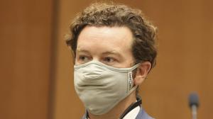 Actor Danny Masterson appears at his arraignment in Los Angeles Superior Court (Lucy Nicholson/Pool Photo via AP)