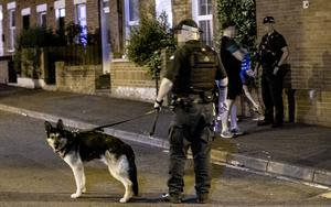 Police dogs were deployed in the Holy Lands area of Belfast following a second night of parties in the area on June 27th 2020 (Photo by Kevin Scott for Belfast Telegraph)
