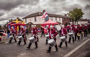 Shankill Protestant Boys parade in the Shankill area of north Belfast on July 13th 2020 (Photo by Kevin Scott for Belfast Telegraph)