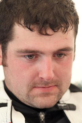 PACEMAKER, BELFAST, 15/5/2014: A man with a lot on his mind. BMW's Michael Dunlop is on pole for Saturday's Superbike races after the final qualifying session for the Vauxhall International North West 200 today. PICTURE BY STEPHEN DAVISON