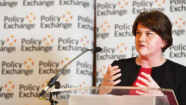 Policy Exchange conference