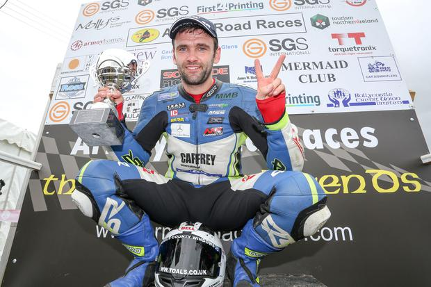 William Dunlop at the Armoy Road Races in 2016. Picture: Philip Magowan / PressEye
