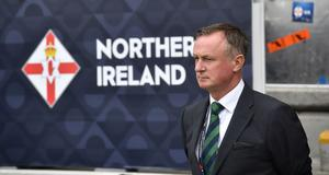 Unclear future: Northern Ireland and Stoke boss Michael O'Neill