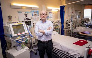 Dr Paul Glover showing the new Northern Ireland Nightingale Hospital wards designed to treat coronavirus sufferers at Belfast City Hospital on April 7th 2020 (Photo by Kevin Scott for Belfast Telegraph)