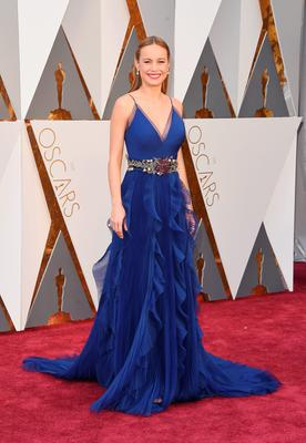 HOLLYWOOD, CA - FEBRUARY 28:  Actress Brie Larson attends the 88th Annual Academy Awards at Hollywood & Highland Center on February 28, 2016 in Hollywood, California.  (Photo by Jason Merritt/Getty Images)