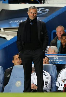 LONDON, ENGLAND - SEPTEMBER 18:  Manager Jose Mourinho of Chelsea looks on during the UEFA Champions League Group E Match between Chelsea and FC Basel at Stamford Bridge on September 18, 2013 in London, England.  (Photo by Ian Walton/Getty Images)