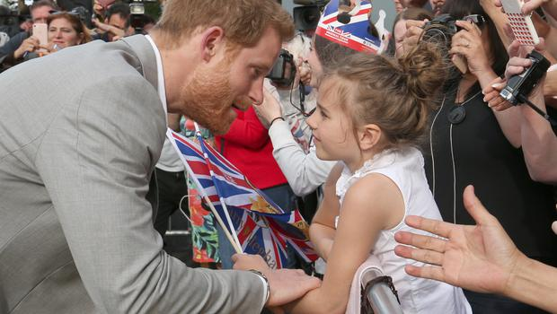 Harry thanked people for their good wishes (Ben Birchall/PA)