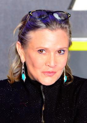 File photo dated 16/12/2015 of Carrie Fisher Carrie Fisher, who has died at age 60, her daughter's publicist said. PRESS ASSOCIATION Photo. Picture date: Tuesday December 27, 2016. See PA story DEATH Fisher. Photo credit should read: Anthony Devlin/PA Wire