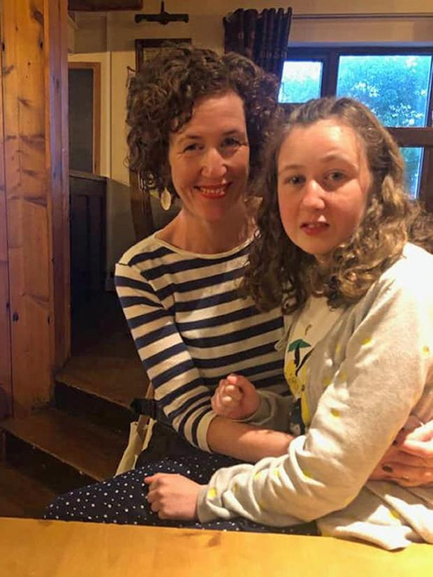 Meabh Quoirin with her daughter Nora Quoirin, who died after going missing on holiday in Malaysia (Lucie Blackman Trust/family handout/PA)