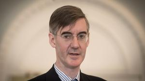 Jacob Rees-Mogg has spoken out about the Government's Brexit negotiations (Stefan Rousseau/PA)
