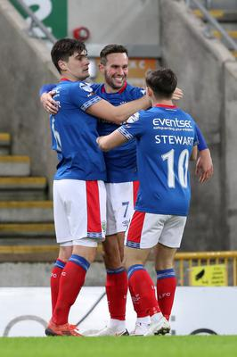 Linfield were crowned champions on a points-per-game basis last term