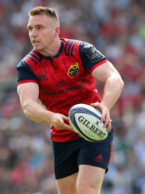 All or nothing: Rory Scannell wants to end Munster's trophy-less run