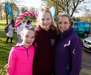 Alice, Chloe and Trisha Browne from Stormont
