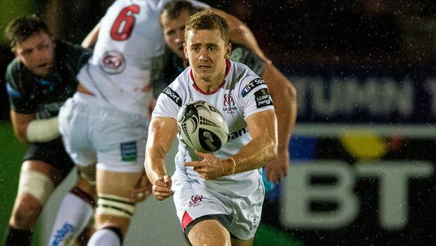 Paddy Jackson during his Ulster days