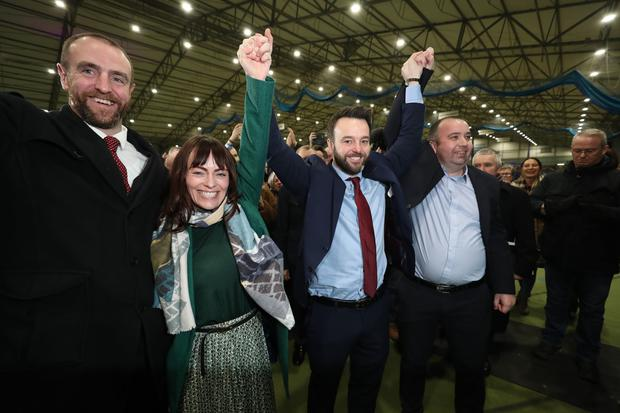 SDLP leader Colum Eastwood is elected MP for Foyle (Niall Carson/PA)