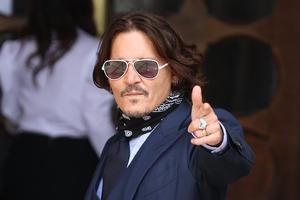 Actor Johnny Depp at the High Court in London (Yui Mok/PA)