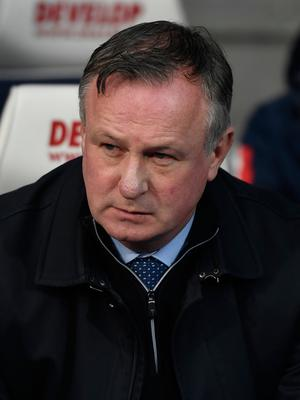 Michael O'Neill. (Photo by George Wood/Getty Images)
