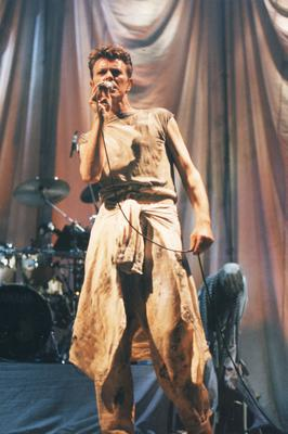 David Bowie at the Kings Hall. 3-12-1995.