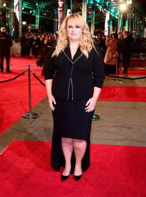 Rebel Wilson attending the EE British Academy Film Awards at the Royal Opera House, Bow Street, London. Sunday February 14, 2016.  Ian West/PA Wire