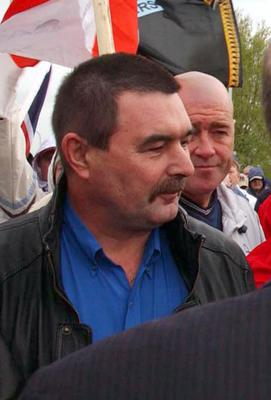 "Former UDA leader Billy ""The Mexican"" McFarlane who was forcibly stood down in 2013."