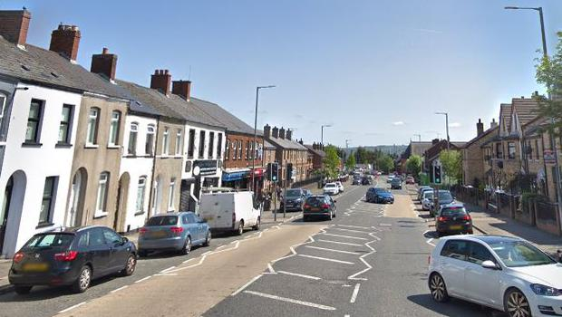 The Oldpark Road area of north Belfast / Credit: Google Maps