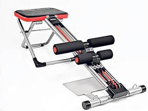 <b>Steel Abs </b><br/> This machine promises you tight, sexy, superhero abs without all the strain and pain and while that's never going to happen for some people, it does a surprisingly good job of positioning your body to work your entire core, thus defining your abs and even getting rid of those love handles.<br/> £64.99, thanedirect.co.uk