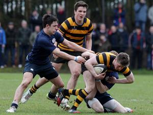 RBAI v Methodist College Danske Bank quarter final at Osbourne Park, Belfast