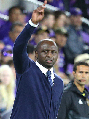 Showing potential: Patrick Vieira is doing well with New York City