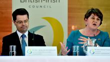 Secretary of State James Brokenshire will have to call an election once Arlene Foster is no longer First Minister