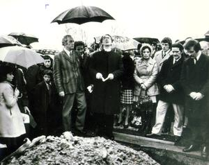 Reggie and Walter Chapman: Protestant brothers brutally murdered on lonely roadside in S. Armagh, Kingsmill Massacre/Shooting. 5/1/1976. Their Bessbrook funeral. 8/1/1976.