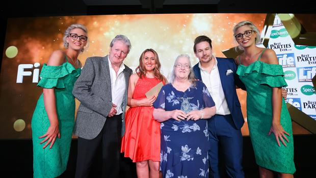 Fiona Simpson from Limavady was named Charity Champion at the Sunday Life Spirit of Northern Ireland Awards. Photo by Kelvin Boyes / Press Eye