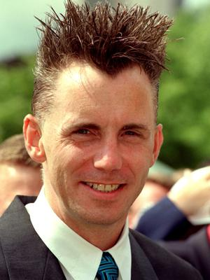 Gary Rhodes at a garden party hosted by the Duke of Edinburgh in 2000 (Fiona Hanson/PA)