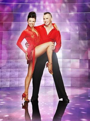 Gary Rhodes and Karen Hardy competed in the 2008 series of BBC1's Strictly Come Dancing (BBC/PA)
