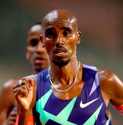 Mo Farah racing to new World one hour record in Brussels