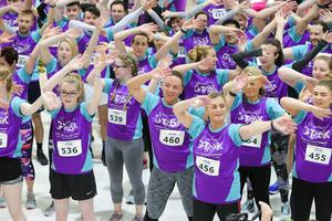 The Grant Thornton Runway Run at Belfast City Airport attracts hundreds of participants