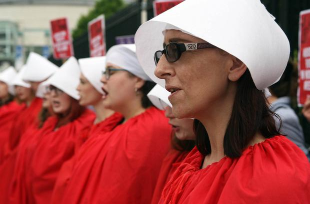 Abortion protest in Belfast. Mandatory Credit - Picture by Freddie Parkinson/Press Eye ©.