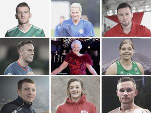 Northern Ireland's sporting heroes have joined together to give fans hope of a return to action.