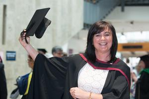 No Fee for Reproduction  Graduating from the Ulster University today with a degree in Law is Siobhan Heaney from Derry. Picture Martin McKeown. Inpresspics.com. 20.06.15