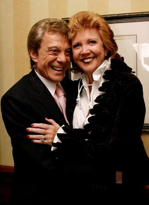 Lionel Blair and Cilla Black arriving for the Help the Aged Living Legend Awards, at Windsor Castle, Windsor, Berkshire in 2006. Hugo Philpott/PA Wire.
