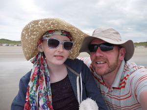 In memory of his daughter Anna, Randal took on the challenge of cycling a circuit of Ireland.