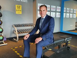 Better Leisure Director Gareth Kirk has been overseeing preparations at the nine of the 15 muncipal leisure centre the company run in Belfast ahead of gyms reopening on Friday. (Rebecca Black/PA)