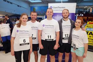Press Eye - Belfast -  Northern Ireland - 24th June 2015 -  at the first ever Grant Thornton Runway Run at Belfast City Airport this evening. Picture by Kelvin Boyes / Press Eye.