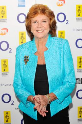 Cilla Black arriving at the O2 Silver Clef Awards 2010, held at the London Hilton Hotel.