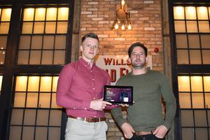 James Freeman, operations manager and Ryan Fegan, founder of DrinkApp