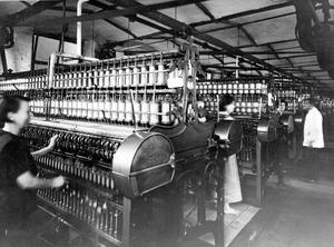 Linen Industry:Wet Spinning, York Street Mill.