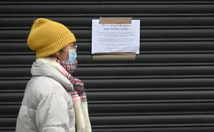 Belfast City centre  on Tuesday with most businesses closed due to the Coronavirus,  with restrictions on movements in Northern Ireland expected to  last longer than three weeks. PHOTO COLM LENAGHAN/PACEMAKER PRESS