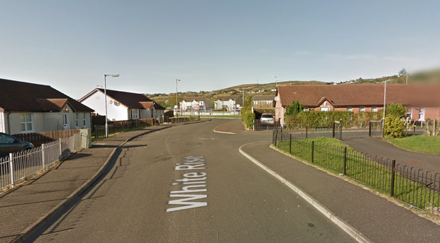 White Rise in west Belfast. Pic Google Maps
