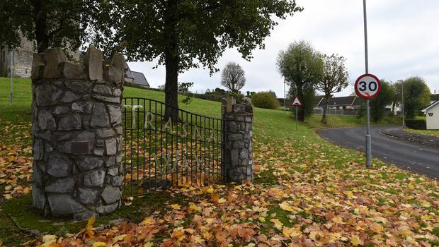 A 13-year-old girl was critically injured after being attacked by a gang of men armed with machetes in County Fermanagh