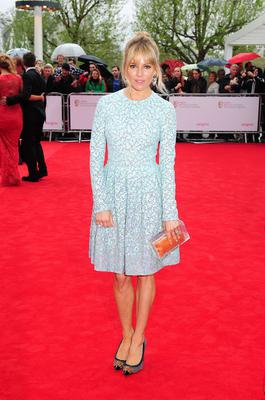 Sienna Miller arriving for the 2013 Arqiva British Academy Television Awards at the Royal Festival Hall, London. PRESS ASSOCIATION Photo. Picture date: Sunday May 12, 2013. See PA story SHOWBIZ Bafta. Photo credit should read: Ian West/PA Wire