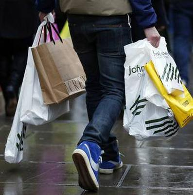 Footfall in Northern Ireland's shops fell by 9% during February - and this month could be even worse as coronavirus hits hard, according to a report today